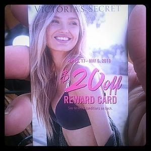 Vs rewards $20 card